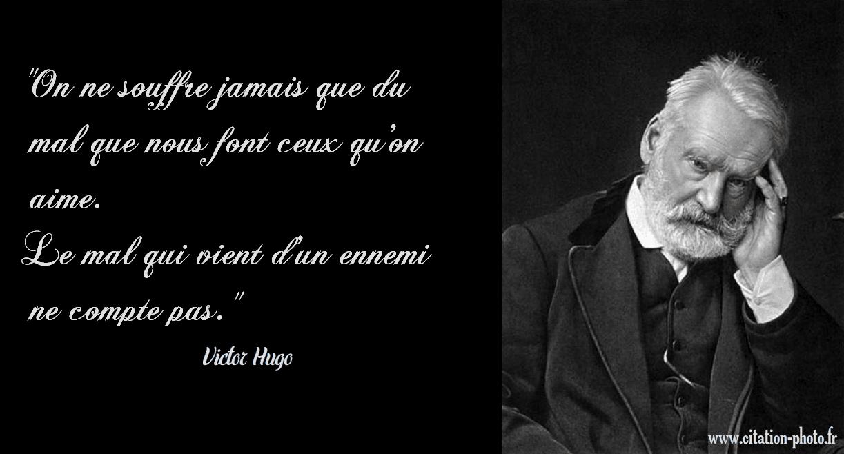 Citations De Victor Hugo En Photo